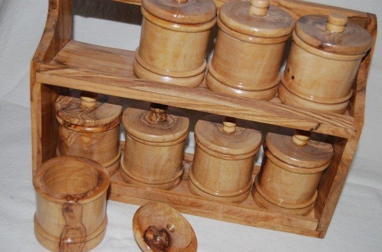Ustensile de cuisine en bois d'olivier
