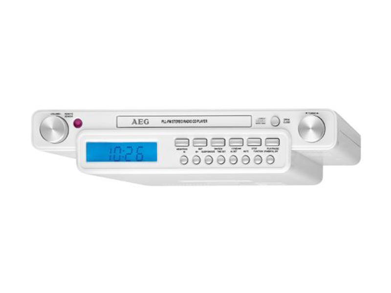 Radio de cuisine st r o avec lecteur cd aeg krc 4355 for Radio de cuisine