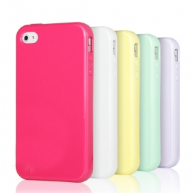 ICECREAM Coque étui silicone pour iPhone 4 et iPhone 4S