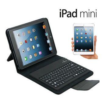 Bluetooth Sans fil Clavier AZERTY et Étuis housse détachable pour iPad Mini