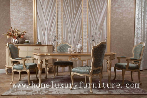 La table de salle manger et les chaises en bois antiques for Chaise de salle a manger de luxe