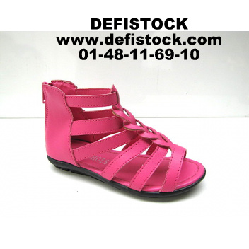 spartiate fille rose ref 1354/ 2.95€ HT