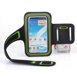 Brassard étui sportif en cuir PU pour Galaxy Note 2 N7100 Assortiment de Couleurs