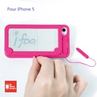 Message board style coque rigide pour iPhone 5