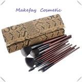 Vente chaude 7pcs Maquillage Petit cadeau Brush Set pinceau de maquillage promotionnel