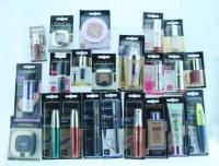 Lot maquillage de marque Blister - Français -500 pièces - Liquidation