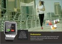 Montre-bracelet mobile intelligente du meilleur de sim de la Chine de carte sport coût-efficace de multi-langue