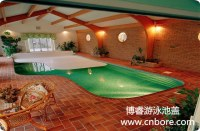 Automatic hard swimming pool cover