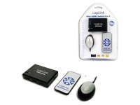 Mini commutateur HDMI LogiLink 5 ports + télécommande (HD0004)