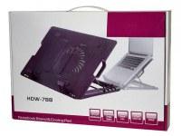 Refroidisseur notebook + 2 Ports USB HUB (HDW-788 noir)
