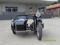 Black changjiang 750CC sidecar