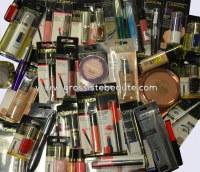Lot maquillages de marque Blister Fr