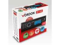 Autoradio Vordon HT-165s avec sorties AUX / USB / SD