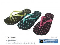Chaussures - Tongs à pois Beleza