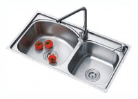 stainless steel sink DOSCMseries(knife rest)
