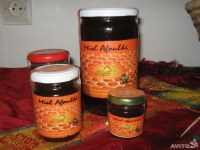 Miel du fleurs miel d'euphorbe cactus miel de thym miel d'eucalyptus