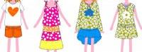 Lot de vêtements enfants de marque agatha ruiz de la prada en petites quantité