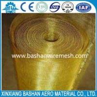 China steel mesh manufacturers Brass Wire Mesh
