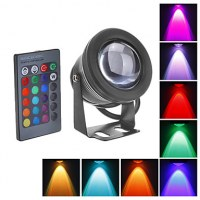 IP68 RGB 10W 12V fountains led underwater swimming pool light