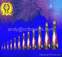 Coniques Fountain jouets Fireworks 3 à 17 pouces pour le mariage Evènements Nouvel An Noël Journée nationale de l'Aïd Pâques