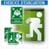 Formation, exercice d'évacuation Maroc
