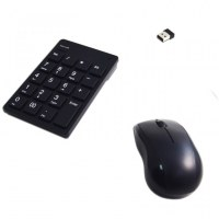 Wireless 2.4 GHz Optical Mouse Keypad Combo