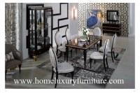 Les ensembles l'Europe classique de salle à manger de table de salle à manger et de meubles de salle à manger de chaises dénomment TN-001