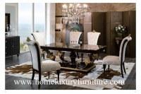 Le style en bois de l'Italie de table de salle à manger de meubles et de meubles de salle à manger de chaises ajournent TN005M