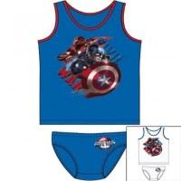 Ensemble 2 pieces Captain America du 2 au 8 ans