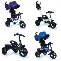 Vélo, tricycle #evo Edge , 3 en 1, roues de mousse