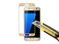 Film verre trempé or stellaire 0.3mm pour Galaxy S7