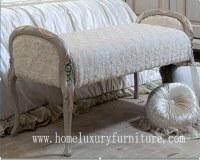 La chambre à coucher en bois de selles d'extrémité de lit de selles de chambre à coucher de selles préside la chaise longue FU-103