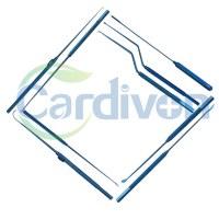 Cardiovascular Titanium Dissectors, Hooks, Dilator
