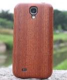 SAPELLI Bois naturel Coque en bois véritable pour Samsung Galaxy S4 i9500