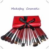 De haute qualité en cuir PU 22 ensembles de pièces de pinceau de maquillage professionnel