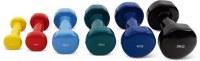 Haltères en vinyle d'accessoires de fitness