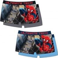 Lot de 2 boxers Spiderman du 2 au 8 ans