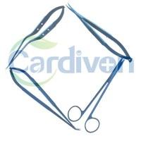 Cardiovascular Titanium Scissors