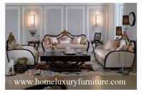 Sofa classique TI005 de sofa de sofa de Loveseat de tissu de sofa de sofa italien réglé réglé vivant réglé de style