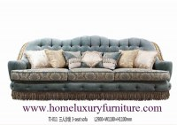 Le sofa classique de sofa de tissu de sofas de salon d'ensembles de sofa des prix de sofa de fournisseur de sofa place TI011