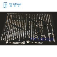 Small Animal Veterinary Implants 316L Stainless Steel System Veterinary Orthopedic Implants System