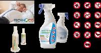 Insecticide technologie anti acariens, punaises de lit et mites