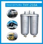 Efficient diesel oil filter