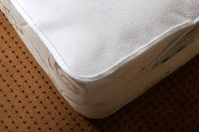 Etanche terry pvc vinyle enduit prot ge matelas chambre - Protege matelas incontinence ...