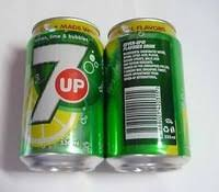 7UP Lemon, Lime 330ml x 24 units Soft Drinks