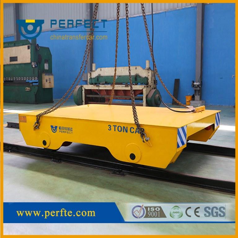 Self Propelled Trolley, Rail Die Car, Electric Flat Transfer Cart