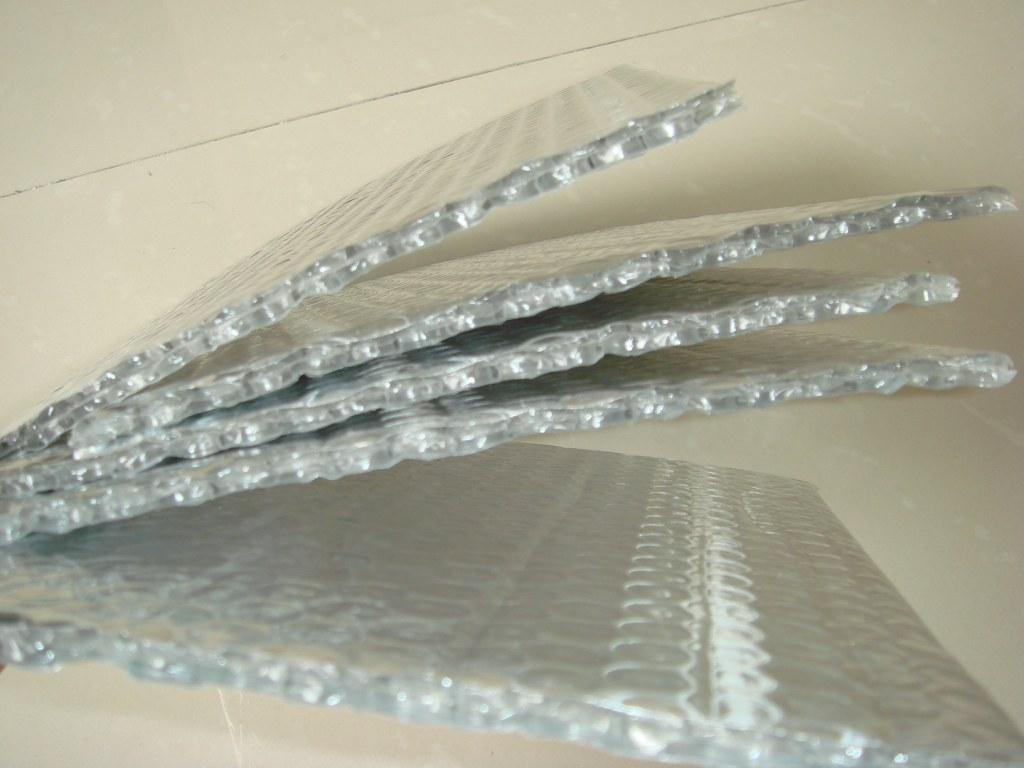 Aluminium Bubble Foil Insulation Reflective Foil Bubble