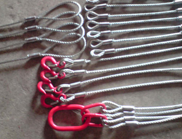 Cable socks Cable wire rope pulling grip Wire rope sock wire mesh