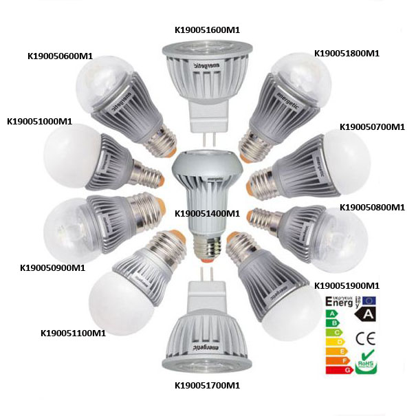 energetic led ampoule 2w 3w 6w 7w e14 e27 gu4 3000k 4000k import. Black Bedroom Furniture Sets. Home Design Ideas