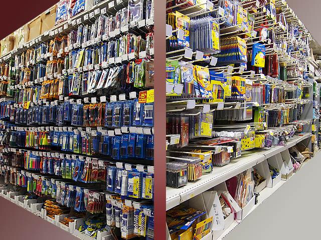 Palettes fournitures scolaires et de bureau import export - Destockage fourniture de bureau ...